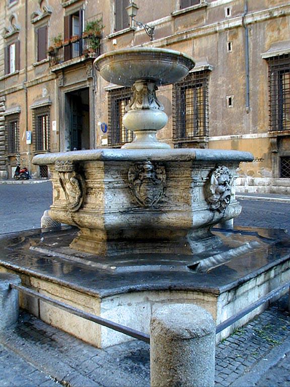 Guida a piazza campitelli guida roma for La vecchia roma ristorante roma