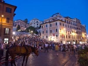 Piazza di Spagna a Roma, foto di Jean-Christophe BENOIST