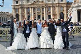 Neo sposi a Roma